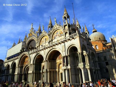 Basilica cattedrale patriarcale di san marco april 2012 for Esterno basilica di san marco